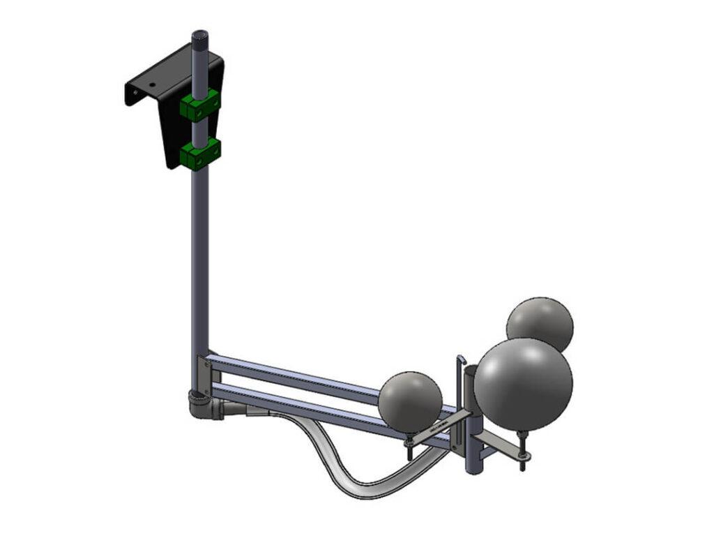 Pivot Arm Skimmer Illustration