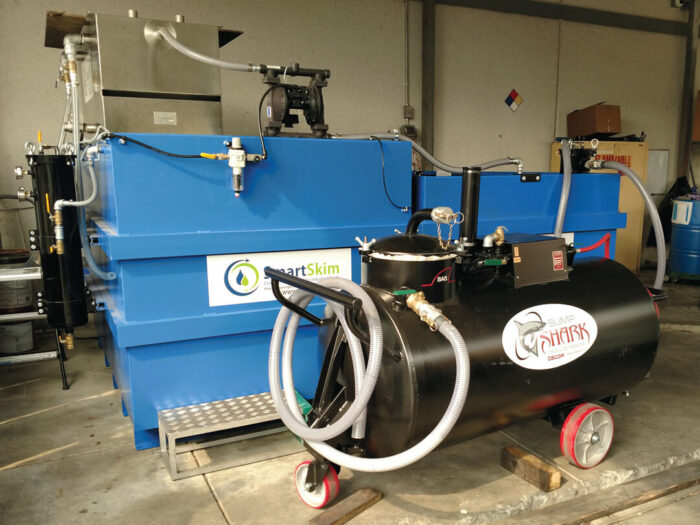 Photo of SmartSkim Coolant Recycling System & Sump Cleaner