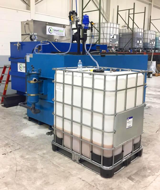 SmartSkim equipment at J.G. Kern