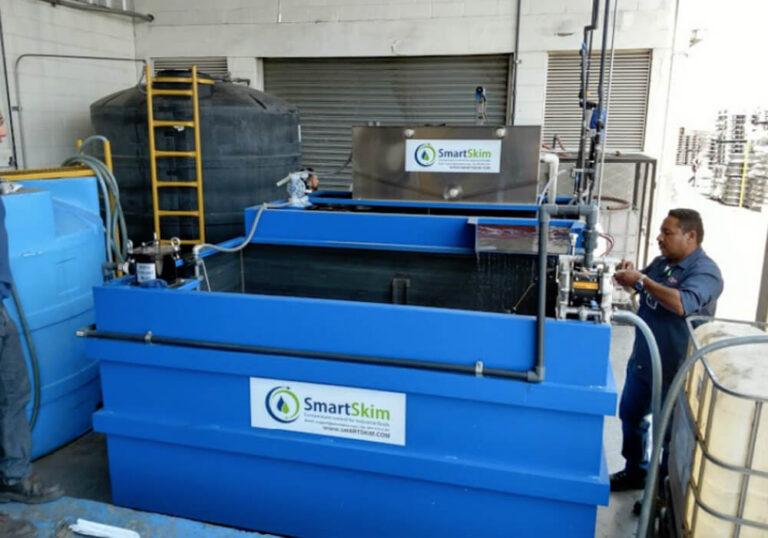 SmartSkim equipment at Maxion Wheels