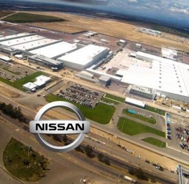 Nissan Mexico auto assembly plant