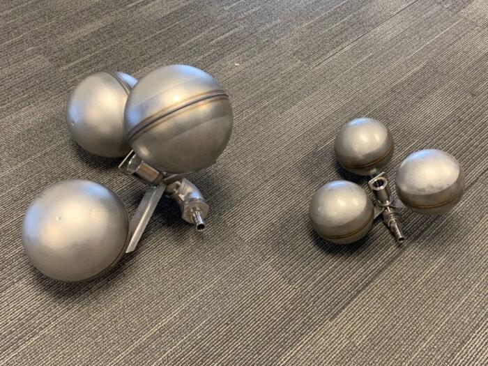 Mega Tri-Float and Mini Tri-Float